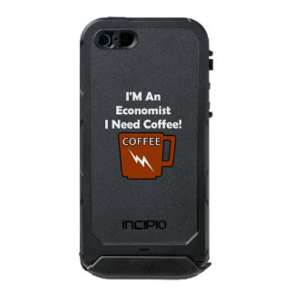 I'M An Economist, I Need Coffee! Waterproof iPhone SE/5/5s Case