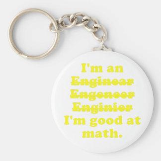 I'm an Engineer Keychain