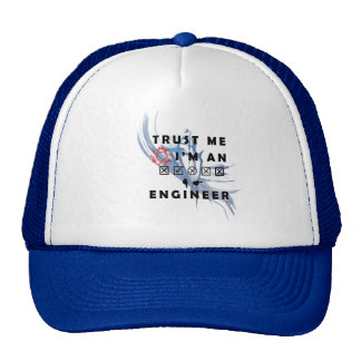 I'm An Engineer Men and Woemn Products Trucker Hat