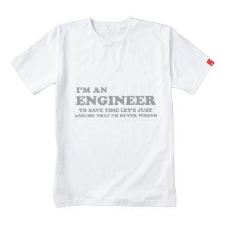 I'm an engineer zazzle HEART T-Shirt
