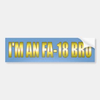 I'm an FA-18 Bumper Sticker