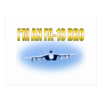 I'm an FA-18 Postcard