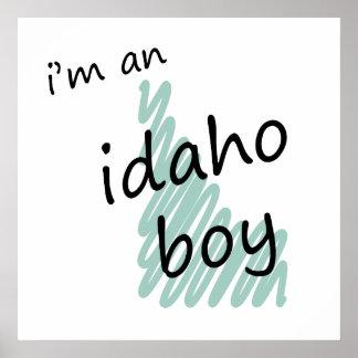 I'm an Idaho Boy Print
