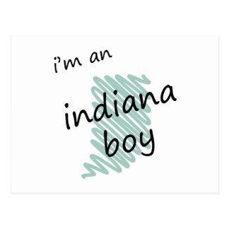 I'm an Indiana Boy Postcard