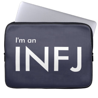 I'm an INFJ - Personality Type Laptop Computer Sleeves