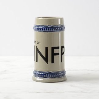 I'm an INFP - Personality Type Beer Stein