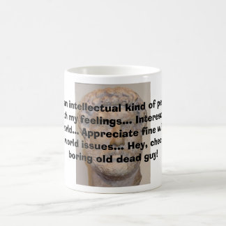 I'm an intellectual..... coffee mug