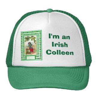 I'm an Irish Colleen, Ireland, St Patrick's Trucker Hat