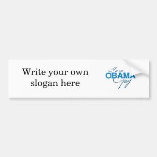I'm an Obama Guy Bumper Stickers