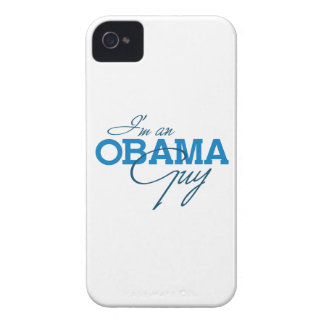 I'M AN OBAMA GUY -.png Case-Mate iPhone 4 Case
