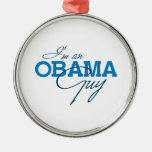I'M AN OBAMA GUY -.png Ornament