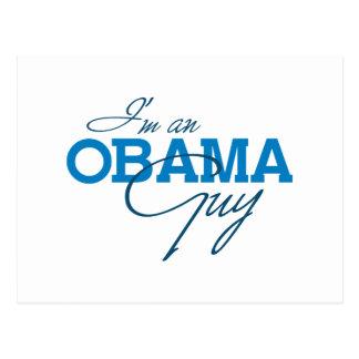 I'm an Obama Guy Post Card