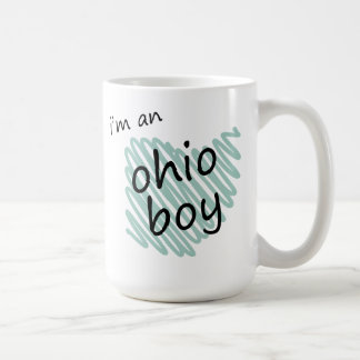 I'm an Ohio Boy Classic White Coffee Mug