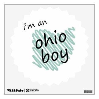 I'm an Ohio Boy Wall Sticker