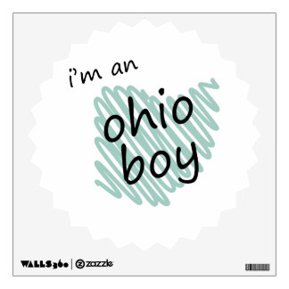 I'm an Ohio Boy Wall Graphics