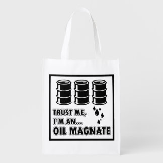 I'm an Oil Magnate Reusable Grocery Bag