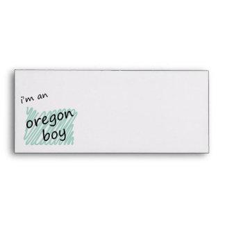 I'm an Oregon Boy Envelope