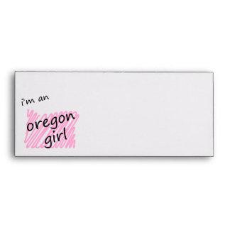 I'm an Oregon Girl Envelope