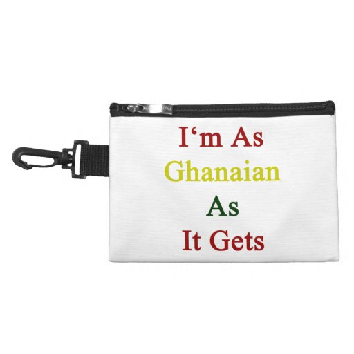 I'm As Ghanaian As It Gets Accessories Bag