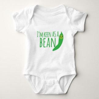 I'm as keen as a bean with cute kawaii beanie baby bodysuit