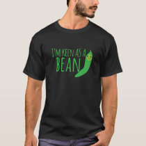 I'm as keen as a bean with cute kawaii beanie T-Shirt