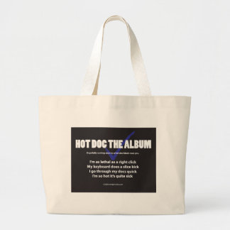 I'm as lethal as a right click large tote bag