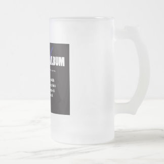 I'm as lethal as a right click 16 oz frosted glass beer mug
