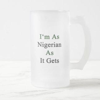 I'm As Nigerian As It Gets Coffee Mugs
