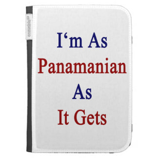 I'm As Panamanian As It Gets Kindle Keyboard Cases