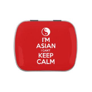 I'm Asian I Can't Keep Calm Candy Tin