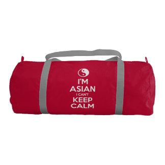 I'm Asian I Can't Keep Calm Duffle Bag