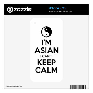 I'm Asian I Can't Keep Calm Skins For iPhone 4