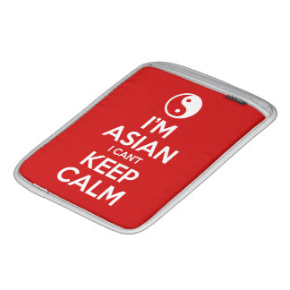 I'm Asian I Can't Keep Calm Sleeve For iPads