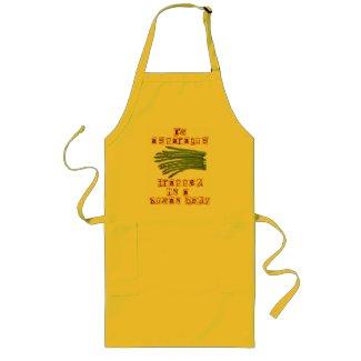 I'm Asparagus apron