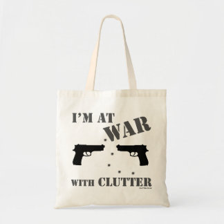 'I'm At War With Clutter' Bag