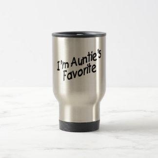 I'm Auntie's Favorite 15 Oz Stainless Steel Travel Mug