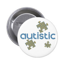I'm Autistic Awareness Button