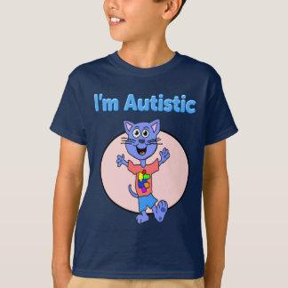 I'm Autistic Kitten Kids Shirt