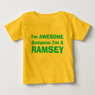 I'm Awesome Because...... Baby T-Shirt