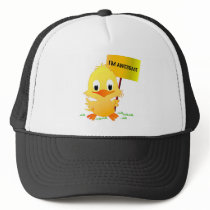 I'm Awesome Chick Trucker Hat