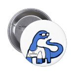 Im Awesome Dinosaur Pinback Buttons