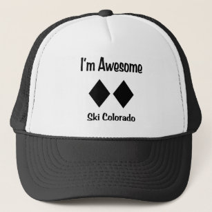 I m Awesome Ski Colorado Trucker Hat 88187b8a0fc