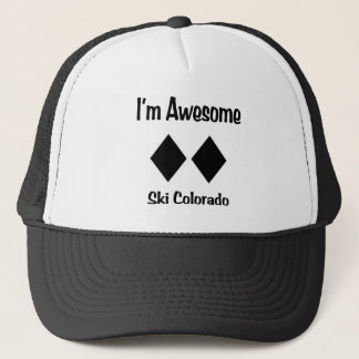 I'm Awesome Ski Colorado Trucker Hat