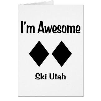 I'm Awesome Ski Utah Card