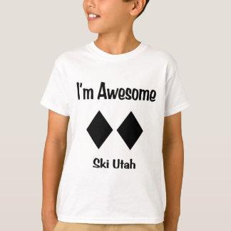 I'm Awesome Ski Utah T-Shirt