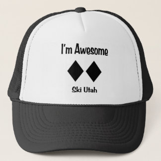 I'm Awesome Ski Utah Trucker Hat