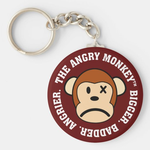 I'm back and now I'm bigger, badder, and angrier Basic Round Button Keychain