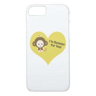 Im Bananas for You Monkey iPhone 7 Case