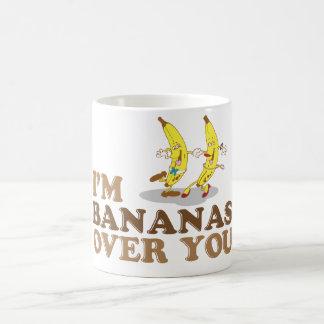 I'm Bananas Over You - Dancing Bananas Coffee Mug