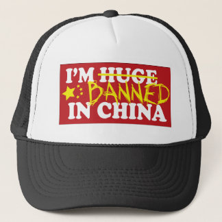 I'm banned in China Trucker Hat
